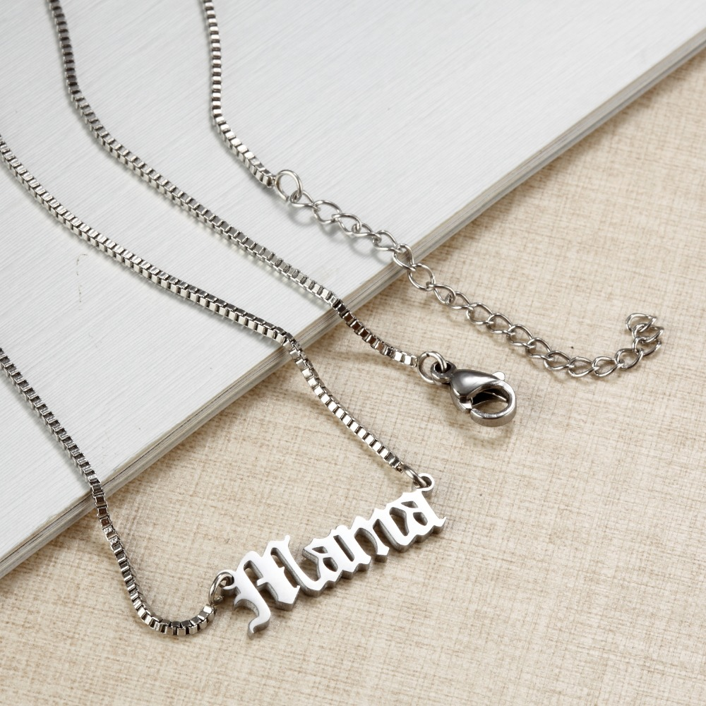 Custom-Necklace-Name-Mama-Personalized-Engraved-nameplate-Word-Charm-Jewelry-Stainless-Steel-Pendant-Necklace-Meaningful-Gift
