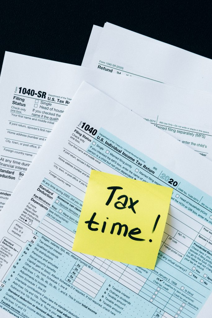 tax forms for business