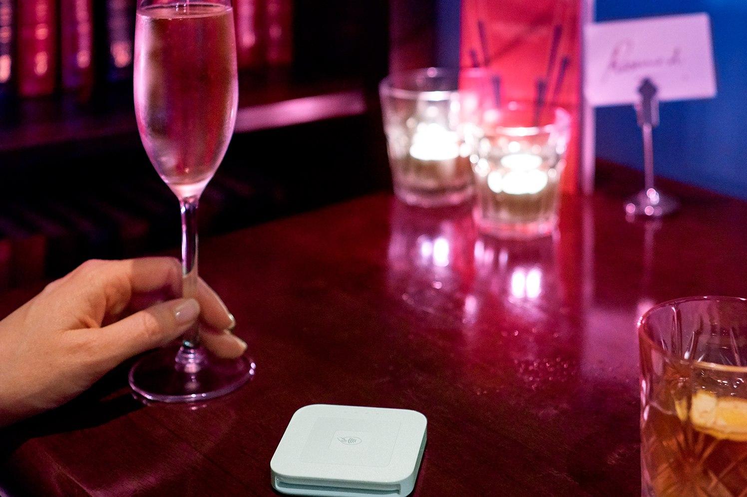 Glass in Bar